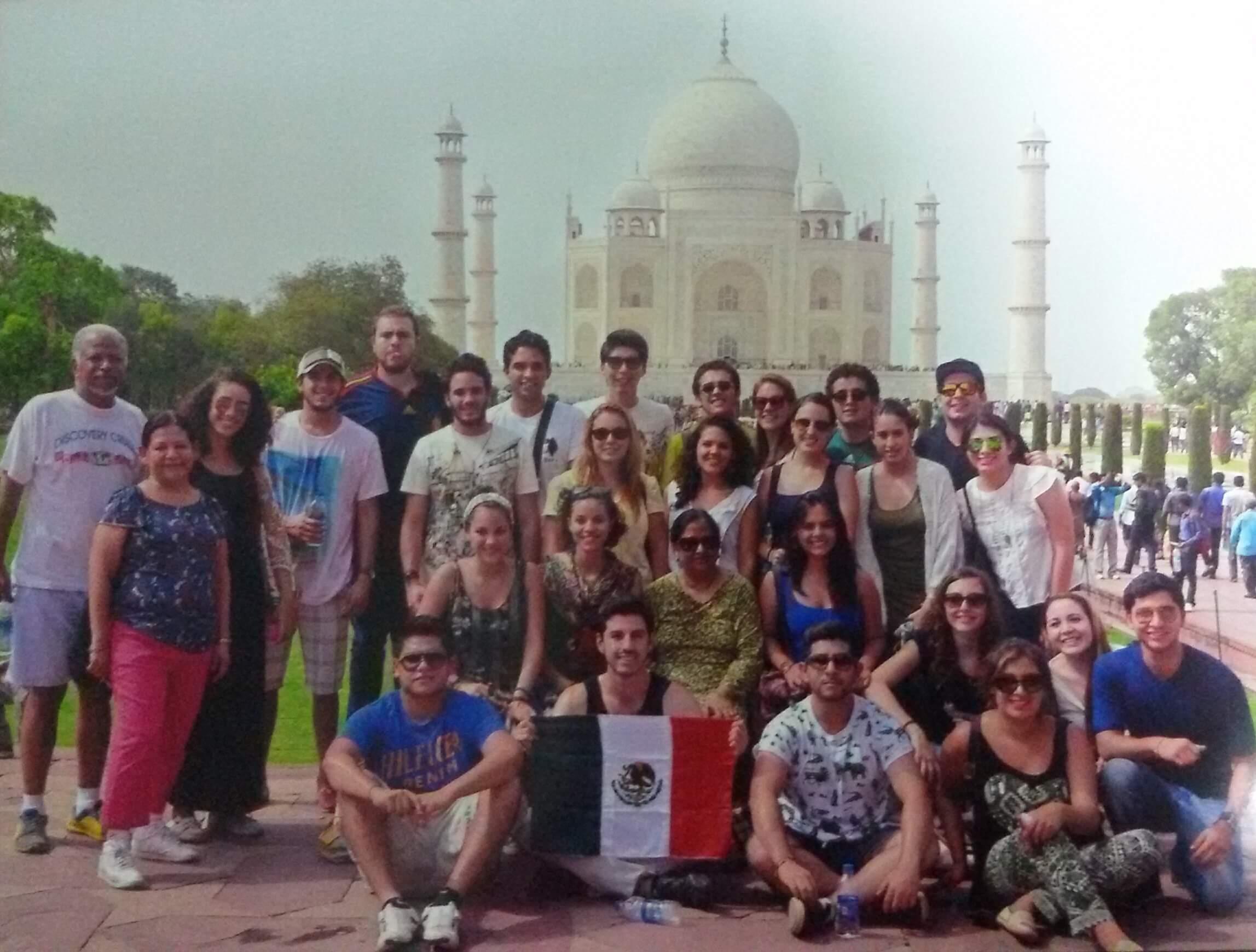 mexico student india study abroad taj
